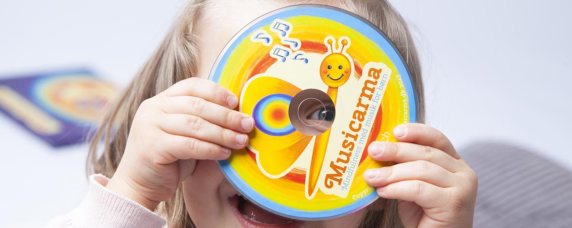 Musicarma CD'en mindfulness med musik for børn