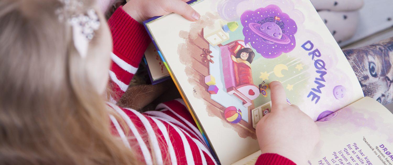 Børn kan også selv læse Musicarma bogen