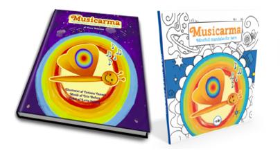 Musicarma bog og mandala malebog